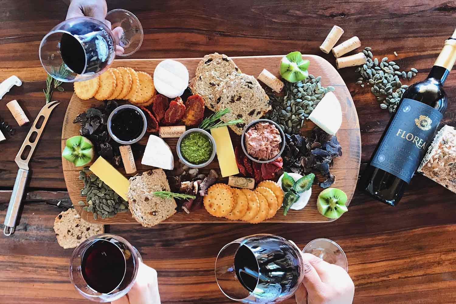 Food Wine Platter Cape Town